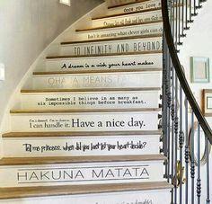 Disney stairs.