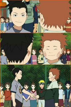 Shikamru and Choji (Naruto Shippuden)