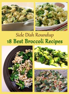 18 Best Broccoli Side Dish Recipes { thelovebugsblog.blogspot.com }