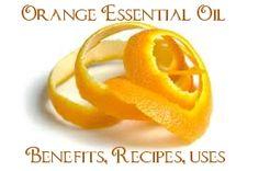 100% Pure Sweet Orange Essential Oil Benefits, Recipes & Uses