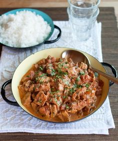 Chicken Tikka Masala, recipe on The Kitchn.