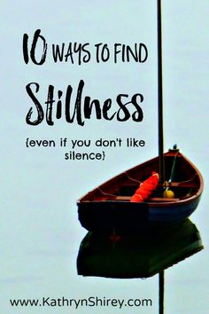 Is your life full of noise, activity, and chaos? Do you find your schedule packed and hectic? Are you struggling to find peace, quiet, and tranquility in your life? Do you long to hear God's voice more clearly in your life? Most of us are living busy, hectic lives. Too often we push aside stillness […]