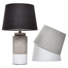 Love these mix and match lamps! #RoomEssentials Dipped Cement Mix and Match #TargetStyle