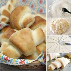 Easy Dinner Rolls are made with a few basic ingredients, you don't need a mixer, and they turn out perfectly soft and delicious every time! The best quick dinner roll recipe I have ever tried! Good Quick Dinners, Quick Dinner Rolls, 30 Minute Dinners, Dinner Rolls Recipe, Roll Recipe, Dinner Recipes, Easy Bread Recipes, Sweet Recipes, Crockpot Recipes