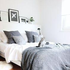 Die schönsten Wohnaccessoires & Möbel in grauen Nuancen   Foto von Mitglied Lilaliv #SoLebIch #interior #grau #grey #wishlist #greyliving #schlafzimmer #bedroom