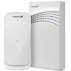 Fosmon Wireless Doorbell Chime Battery Operated Feet 58 Ringtones Portable Doorbell Alert Paging Device, 1 Receiver and 1 Transmitter, Weather Resistant Doorbell for Home, Office, Business - Phone Accessories/Video Doorbells/VR Acce