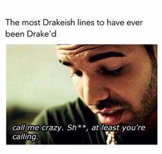 Drake being Drake... | pinterest: @xpiink ♚
