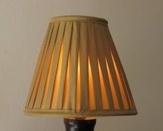 The Lampshade Studio: Pleated Shades