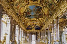 Galerie des glaces - hall of mirrors, Versailles