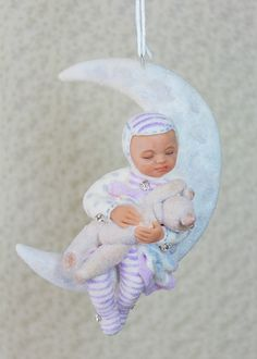 Baby Jacob Ornament by Sarah Niemela at The Toy Shoppe