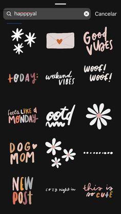 Snapchat Instagram, Blog Instagram, Instagram Hacks, Instagram Emoji, Instagram Editing Apps, Instagram Story Template, Instagram Story Ideas, Instagram Quotes, Citations Instagram