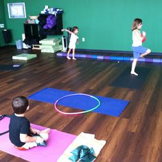 Obstacle Course for kids yoga