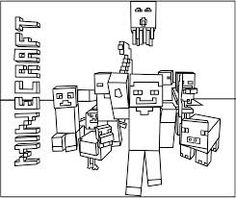 Minecraft Coloring Pages | Minecraft | Pinterest | Creepers, Free ...
