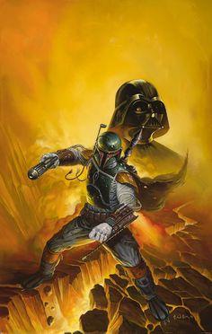 Star Wars - Artist of the Week - Ken Kelly