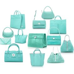 Tiffany Blue, can you have too many bags? I think not!