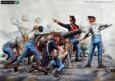 French Zouaves storming a Russian redoubt, Siege of Sevastopol