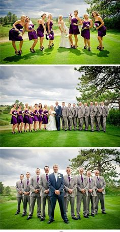 Golf Course Wedding A match made in Heaven ~ Colorado Golf Club Wedding {Parker, CO Wedding Photographer} Wedding Group Poses, Wedding Picture Poses, Wedding Pictures, Party Pictures, Wedding Ideas, Wedding Photography Tips, Party Photography, Golf Wedding, Trendy Wedding