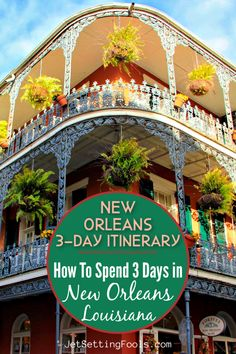Planning a New Orleans Itinerary can be perplexing. Everyone knows to go to Bourbon Street, but what else is there to see in the city? Let us assure you: There are many incredible things to do in New Orleans, Louisiana! To help other travelers discover the best of the city, we have created a perfect 3 Days in New Orleans Itinerary that highlights the top attractions, must-try foods and the best bar scenes. Canada Travel, Travel Usa, Travel Tips, Travel Articles, Travel Abroad, Travel Goals, Travel Guides, New Orleans Travel, Visit New Orleans