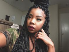 DIY Crochet Box Braids | Realistic & Easy - YouTube