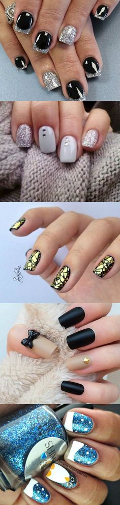 As the new year on the way, So you probably looking for some new nail art inspiration. We bring you the most top rated nail designs from all over the web. #Nail #Designs #2016: