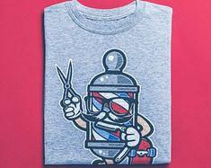 Barber Skater Shirt - Graffiti Shirt, Skateboard T-Shirt, Street Art Apparel Graffiti Shirts, Graffiti Art, Skater Shirts, T Shirts, Good Birthday Presents, Surf Shirt, Vintage Shirts, Tshirts Online, Street Art