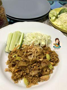 Nasi Goreng Rendang – Cooking with Sheila Nasi Goreng, Main Menu, Pulled Pork, Cooking, Ethnic Recipes, Food, Shredded Pork, Kitchen, Essen