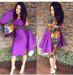 2019 Stunning and Lovely Ankara Short Gown Styles - Naija's Daily Ankara Short Gown Styles, Trendy Ankara Styles, Ankara Gowns, Short Gowns, Ankara Skirt, Long Ankara Dresses, African Fashion Ankara, African Style, Nigerian Fashion