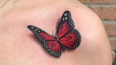 Pillangó tetoválások