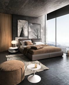 Home Decor Habitacion This bedroom is visualized by studio Decor Habitacion This bedroom is visualized by studio Modern Master Bedroom, Modern Bedroom Design, Master Bedroom Design, Home Decor Bedroom, Bed Design, Home Design, Bedroom Ideas, Design Ideas, Bedroom Apartment