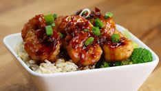 Honey Garlic Shrimp Stir-Fry | Make This Honey Garlic Shrimp Stir-Fry For The Ultimate Weeknight Dinner