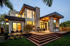 teras mewah rumah modern