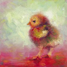 Impressionist Chick Print by Talya Johnson