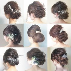 mariko sakakibaraさんはInstagramを利用しています:「#プレ花嫁#全国のプレ花嫁さんと繋がりたい #日本中のプレ花嫁さんと繋がりたい #ブライダル#ブライダルヘア #ブライダルヘアメイク #前撮り#後撮り#卒花#marry花嫁 #2018春婚 #2018夏婚 #2018秋婚 #2018冬婚 #海外挙式 #ハワイ挙式…」 Evening Hairstyles, Bride Hairstyles, Cute Hairstyles, Bella Swan Wedding Dress, Bridal Makeup, Bridal Hair, Korean Bride, Hear Style, Hairdo Wedding