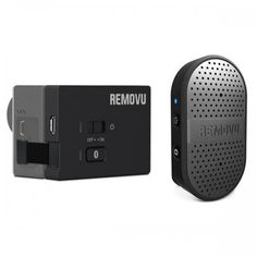 Beef up your GoPro video productions with crisp sound provided by the Removu Bluetooth microphone and receiver combo - which are also waterproof! Gopro Camera, Camera Gear, Bluetooth, Gopro Video, Collar Clips, Dji Osmo, Hero 3, Gaming Accessories, Iphone