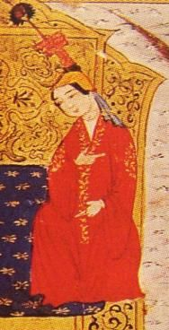 Sorghaghtani Beki (1198 - 1252)married Genghis Khan's son Tolui and ran his lands competentlyafter he died. She refused remarraige andmade secret and open political deals to ensure that all four of hers and Tolui's sons became leaders within the Mongol Empire. Two of them - Mongke and Kublai - became Great Khan. Sorghaghtani is oftencredited with her sons' interest in literacy and religious tolerance.
