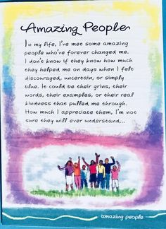 Thank You Quotes Discover Amazing People greeting card illustrated water color quote Ashley Rice gift appreciation office friend mentor Thank You Quotes Gratitude, Thank You Quotes For Friends, Special Friend Quotes, Thankful Quotes, Happy Quotes, Positive Quotes, Amazing Friend Quotes, Mentor Quotes Thank You, Friend Poems