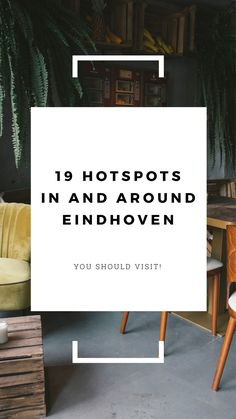 19 awesome food, sleep, shop, discover hotspots in and around the city Eindhoven in The Netherlands. Adventurous Childs your City guide in English and Dutch! #Eindhoven #hotspots #food #drinks #coffeebars #shopping