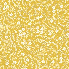 Scattered (mustard) fabric by nouveau_bohemian on Spoonflower - custom fabric
