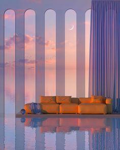 Beautiful Architecture, Interior Architecture, Interior Design, Minimalist Architecture, Faire Un Collage Photo, Future House, My House, 3d Fantasy, House Goals