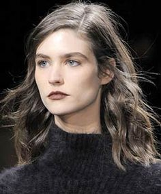 The waves at Phillip Lim were polished and casually tucked behind the ears.