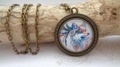 """Cabochon Schmuck - Kette  """"Indian Fox"""" - ein Designerstück von Herzstuecke-Schmuckdesign bei DaWanda"""