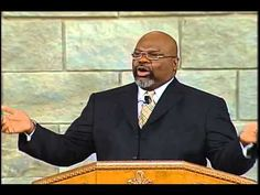 """The brilliant T.D. Jakes teaches on trusting God even when He hurts us (""""Though He slay me, yet I trust Him."""")."""