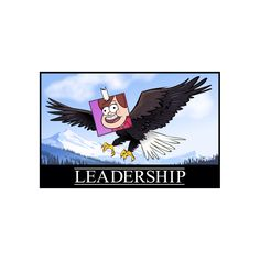 Gravity Falls - Leadership Poster by TheMysteryShack on Etsy…