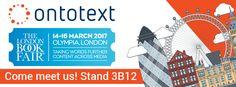 London Book Fair 2017 #ontotext #linkeddata #opendata #publishing #semtech #semantic #technology