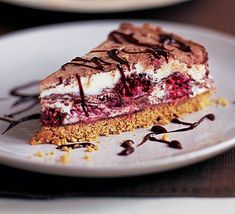 Raspberry & milk chocolate cheesecake