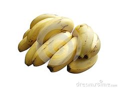 Photo about Banana bunch isolated on white background. Image of eating, cluster, food - 99664844 Banana Fruit, Banana Recipes, Funny Things, Stock Photos, Image, Food, Funny Stuff, Fun Things, Essen