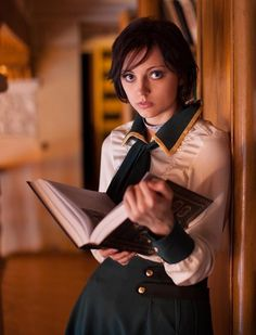 Those BioShock titles sure have given us some fancy outfits! And the newly released BioShock Infinite is no exception. That's probably one reason why people, especially cosplayers, love the BioShock games. Bioshock Cosplay, Bioshock 2, Bioshock Series, Bioshock Infinite Elizabeth, Cosplay Outfits, Cosplay Girls, Cosplay Costumes, Cosplay Ideas, Costume Ideas