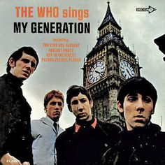 The Who - My Generation and vintage video of 'I Can't Explain' released as a single the same year. (click album cover)