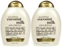 Organix: The shampoo/conditioner line that I use