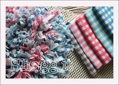 Make a rug!  Crochet hook and non-grip backing tut Riley Blake Designs Blog